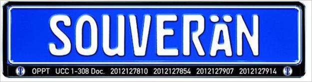 Souverän Kennzeichen